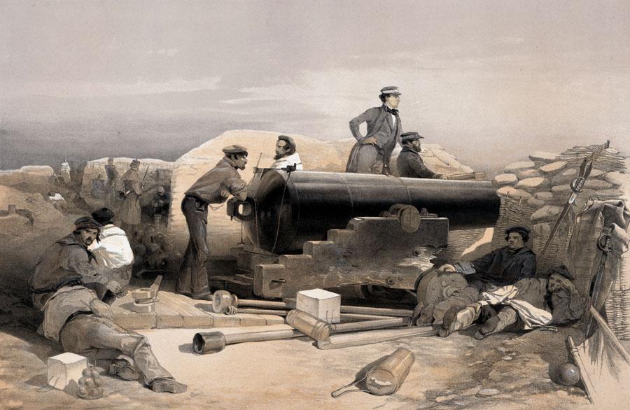 68_pounder_Lancaster_gun_1854