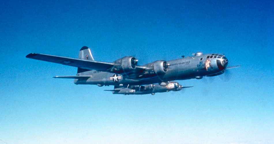 B-29s_19th_Bomb_Group_over_Korea_1950