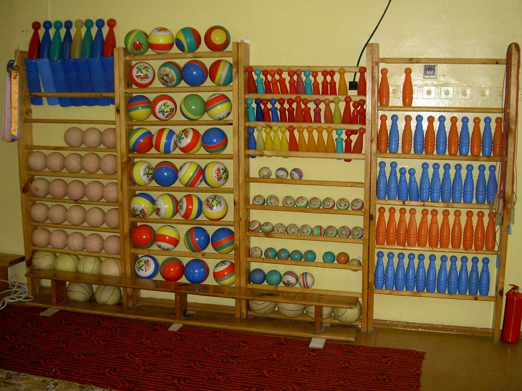 Спортивный инвентарь своими руками для детского сада как 89