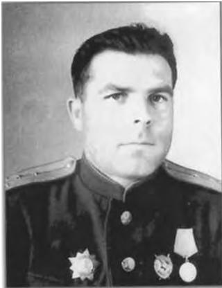 Командир партизанського з'єднання ім. М. Хрущова І. І. Шитов