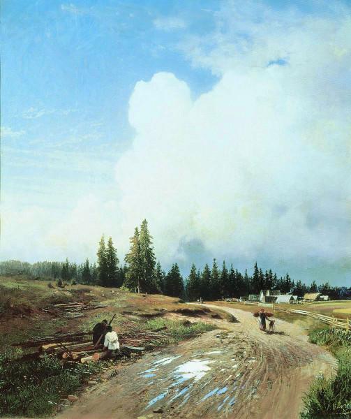 ВАСИЛЬЕВ (1850-1873). После грозы