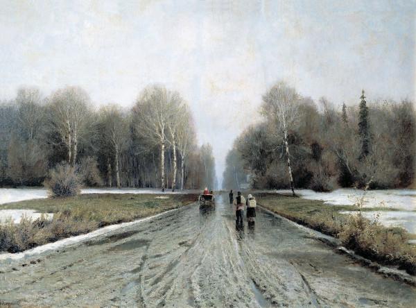 ЕНДОГУРОВ (1861-1898). Ранняя весна.