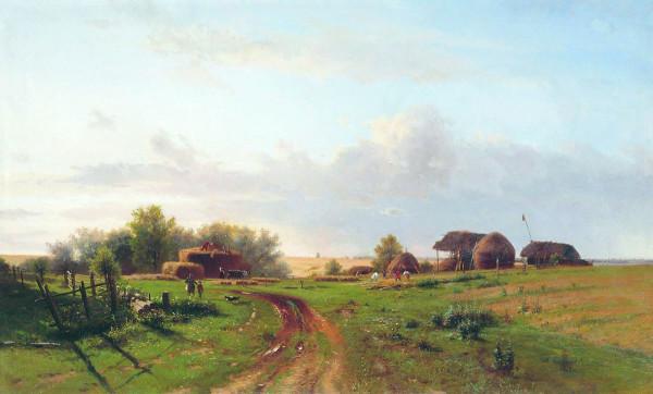 КАМЕНЕВ (1833-1886). Жатва.