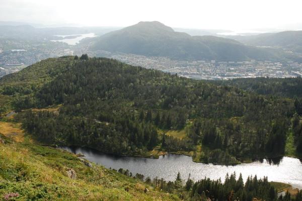 Виды с холма Флайен