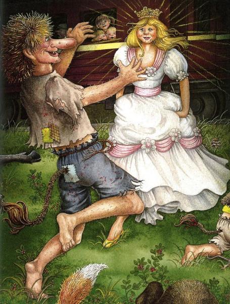 Трольчонок и принцесса