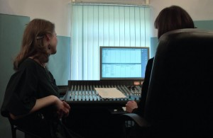 На студии звукозаписи7