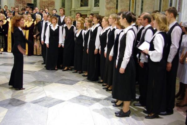 Закрытие хорового фестиваля в Исаакиевском соборе