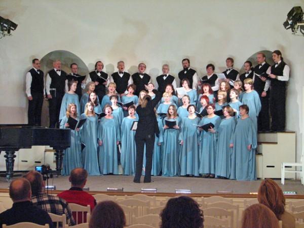 На конкурсе хоров