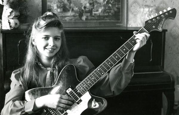 Я с гитарой в 13 лет
