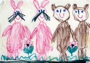 Зайцы и медведи