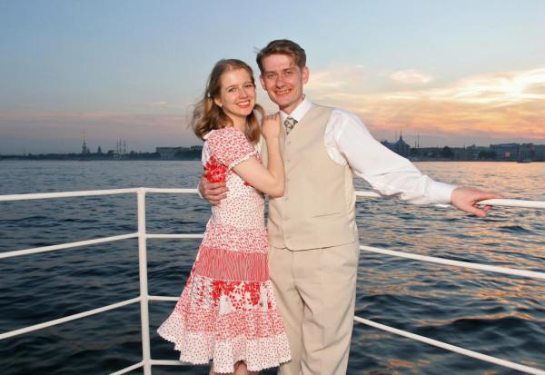 На борту свадебного судна
