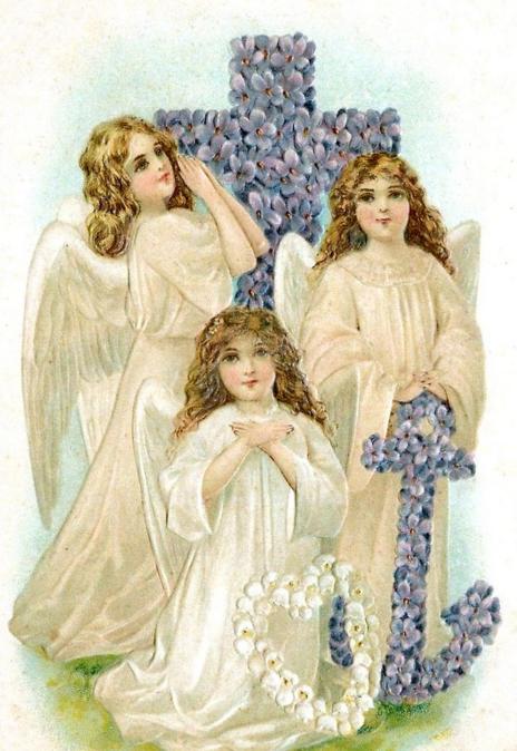 Открытки, вера надежда любовь старинные открытки