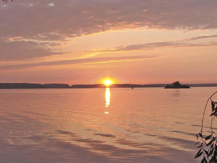 восход солнца над Корчевой