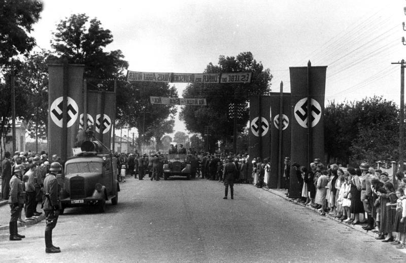 Приїзд генерал-губернатора Ганса Франка до Львова 1941р.