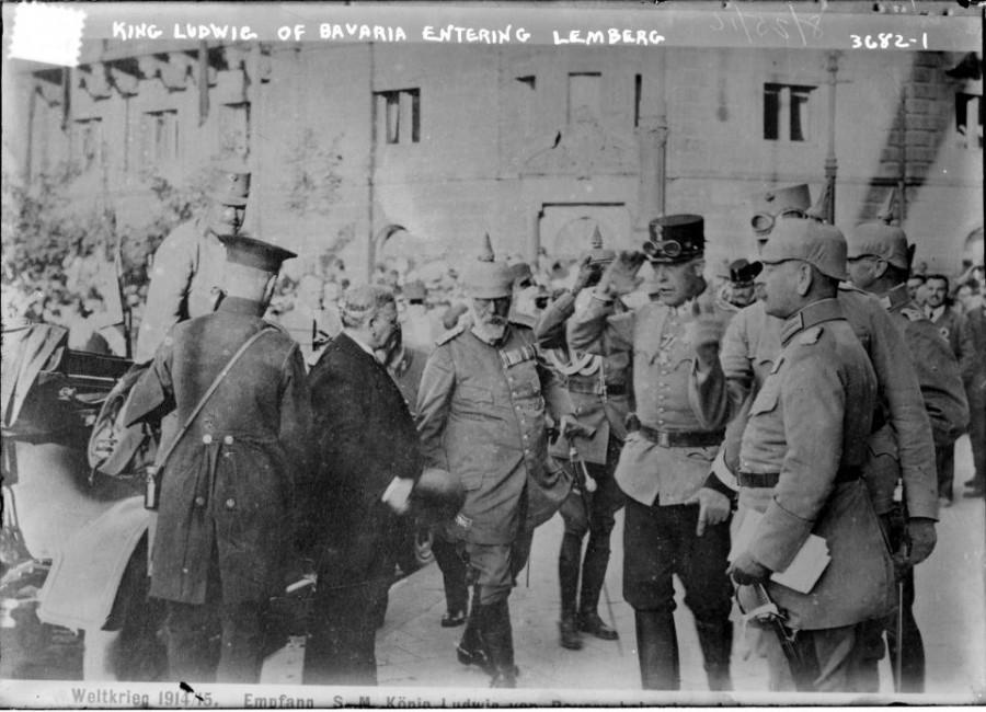 Приїзд короля Людвига Баварського до Львова