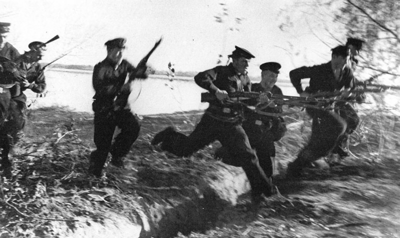 Морская пехота под Сталинградом