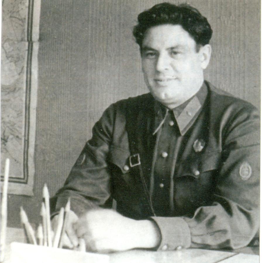 Зам коменданта кремял майор Н.Шпигов