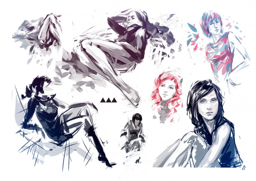 Sketches Vilebedeva