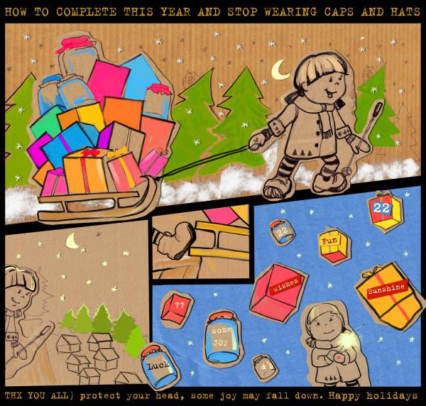 happy holidays)