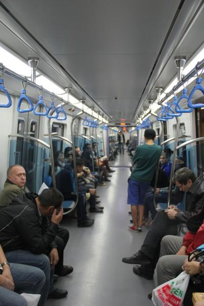 Метро. Алматы.
