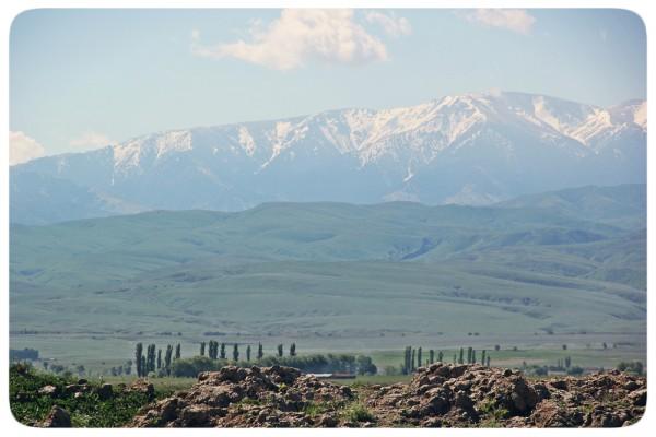 Дорога на Шелек. Казахстан