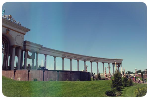 Парк первого президента. Алматы.