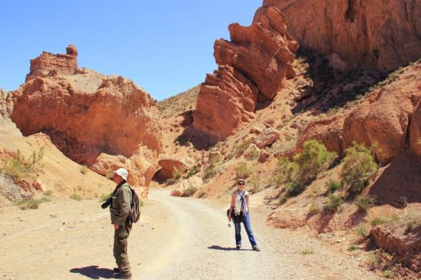Charyn Canyon. Чарынский каньон.