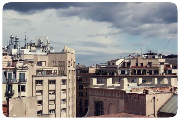 Дом Бальо. На крыше