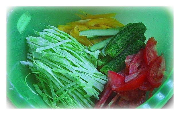 овощи для домашней шаурмы