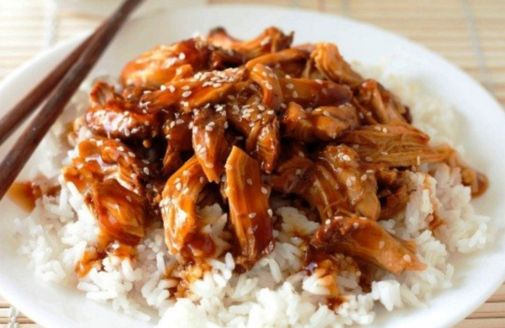 рис терияки рецепт