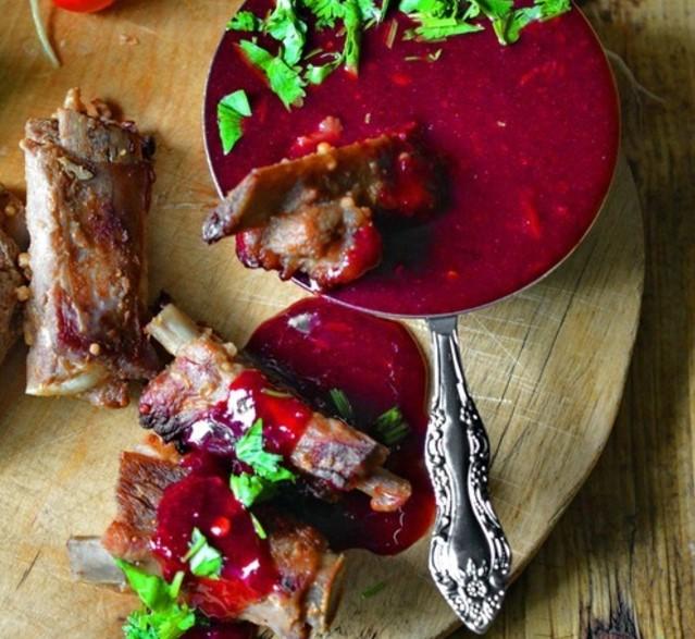 Рецепт смородинового соуса с для гриля