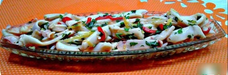 маринованные кальмары рецепт