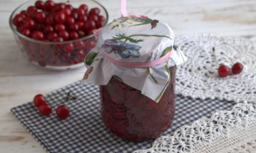 рецепт вишневое варенье