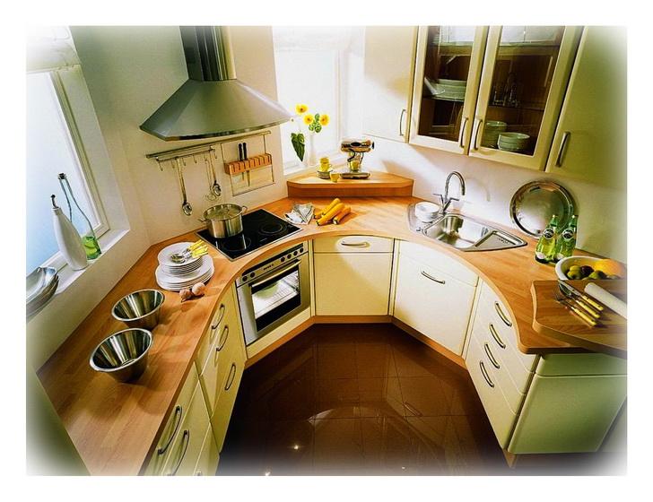 кухня где все под рукой
