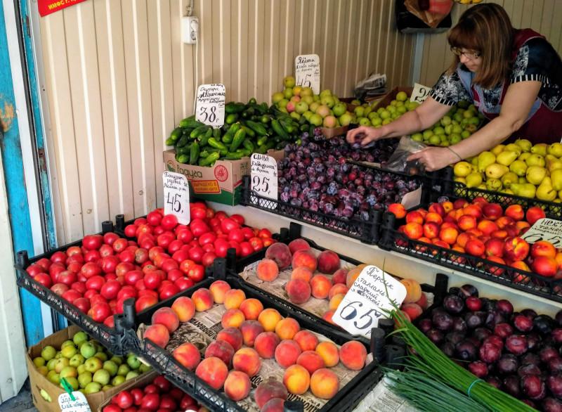 овощи цена на рынке краснодар 2018
