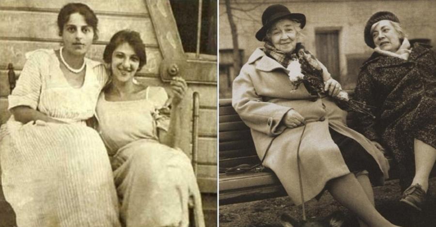 Фаина Раневская с сестрой