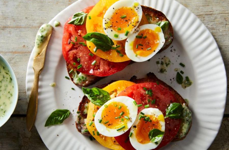 как приготовить томатный сэндвич