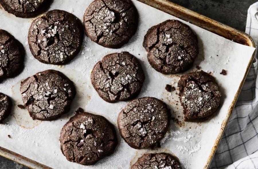 Соленое шоколадное гречневое печенье. Необычный, но простой рецепт