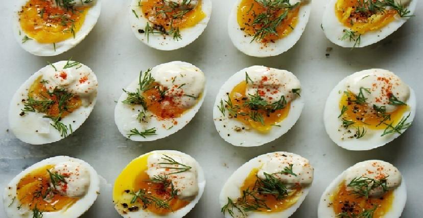 стильные яйца на завтрак