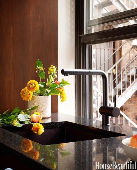 кухня в коричневых тонах 03