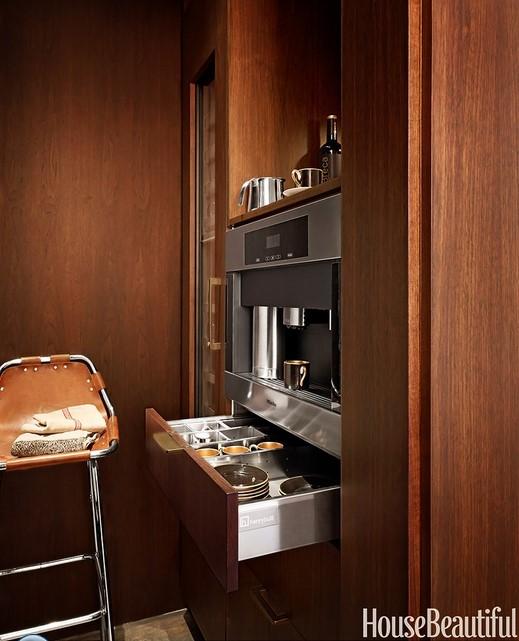 кухня в коричневых тонах 04