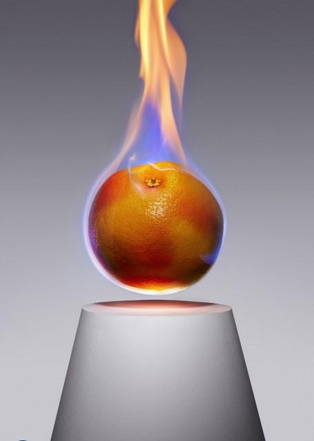 запрещенные фрукты от Aaron Tilley мандарин