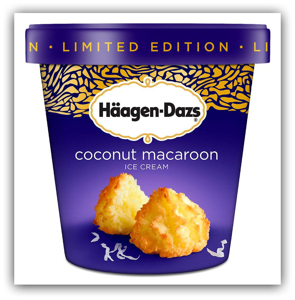 Мороженое со вкусом кокосово-миндального печенья