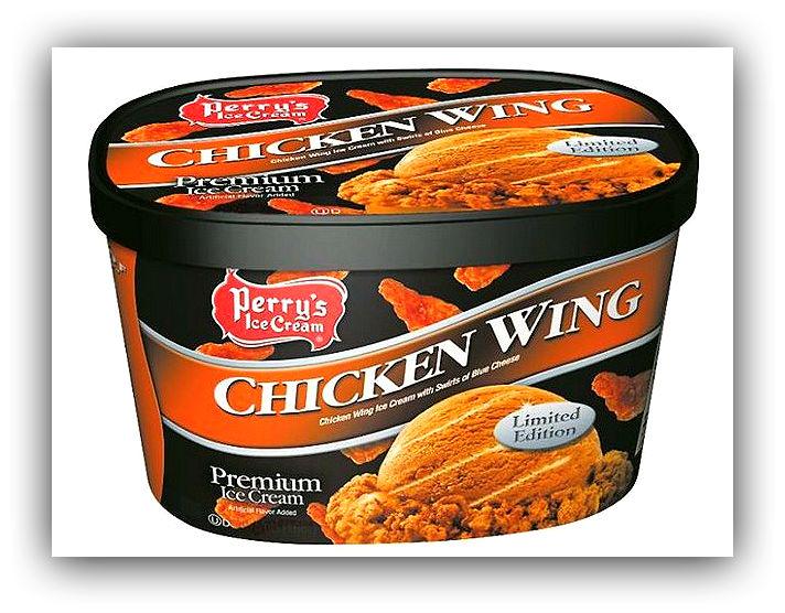 Мороженое со вкусом куриных ножек