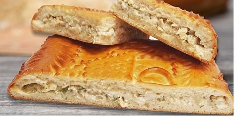 пирог с зубаткой от Пирогов Дворик