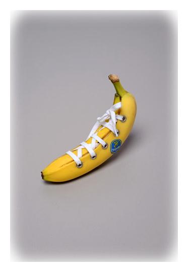 art банан