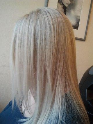 холодный блонд тонирование
