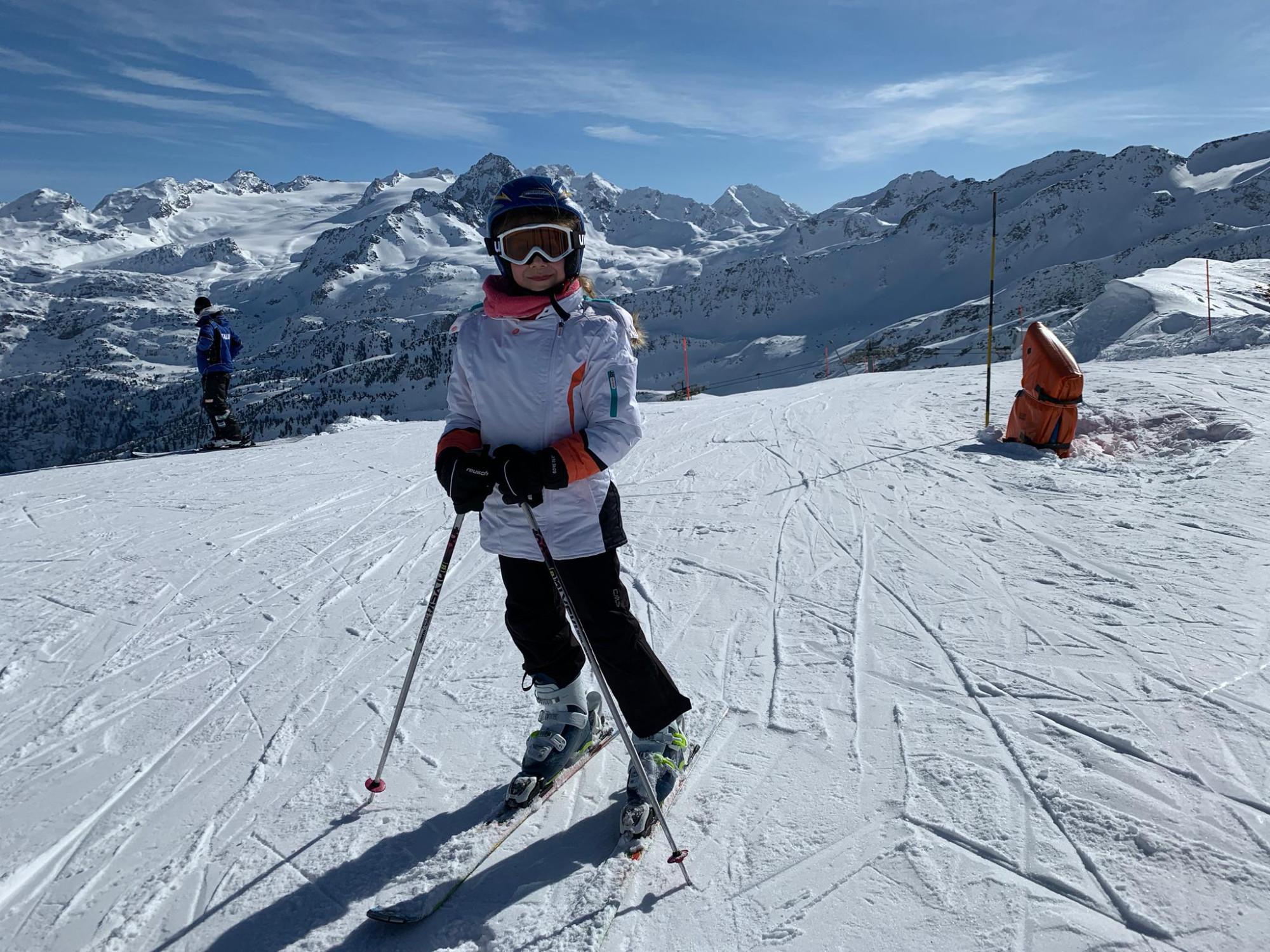 Анна в горах