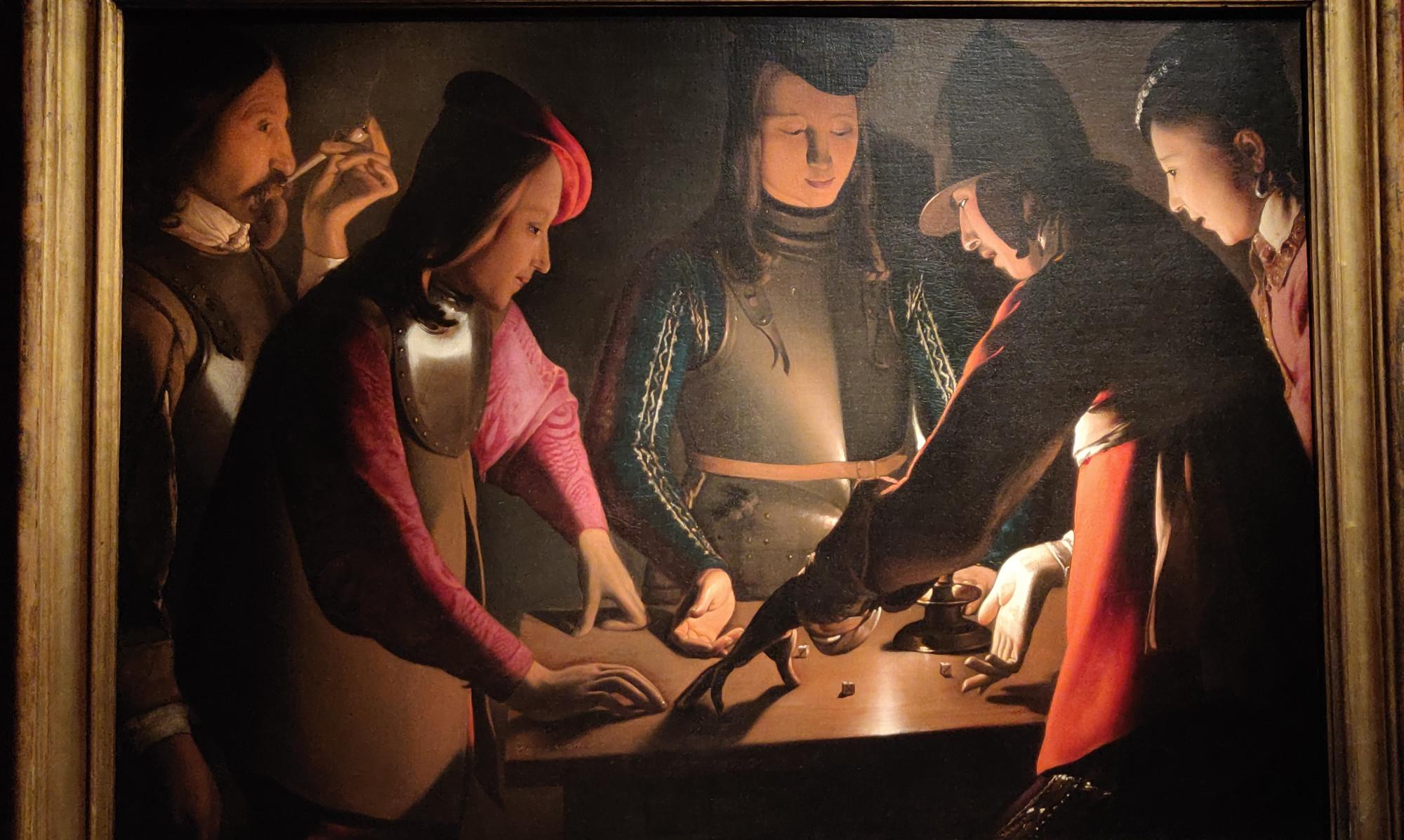 Игра в кости, 1650,Музей Престона