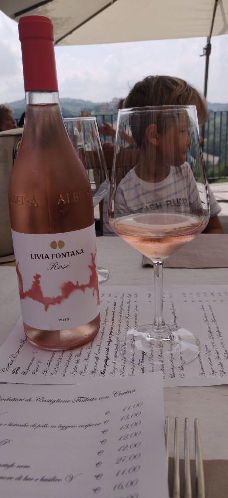 Вино и меню
